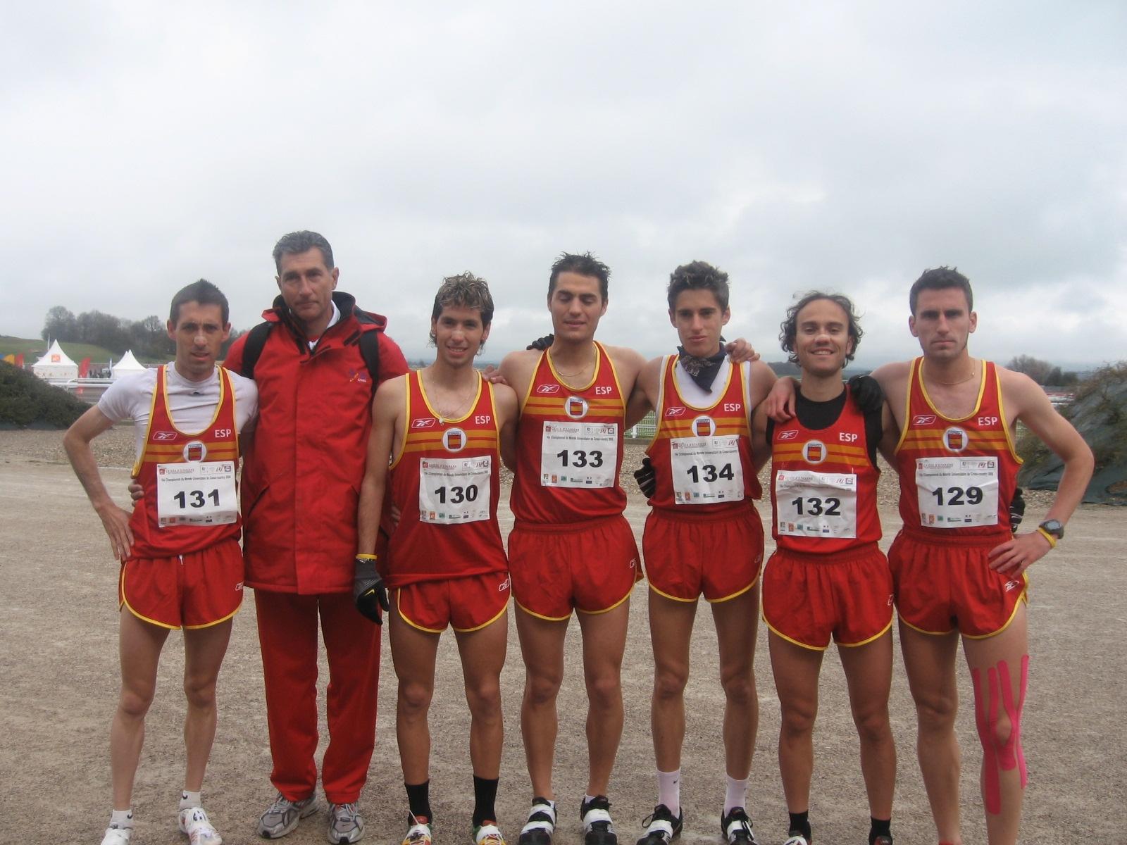 equipo masculino